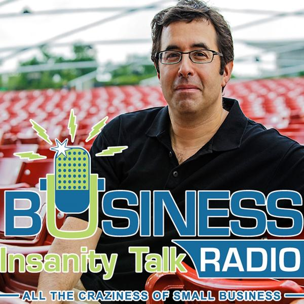Business Insanity Talk Radio Logo