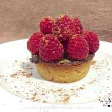 Paleo Raspberry Chocolate Tart
