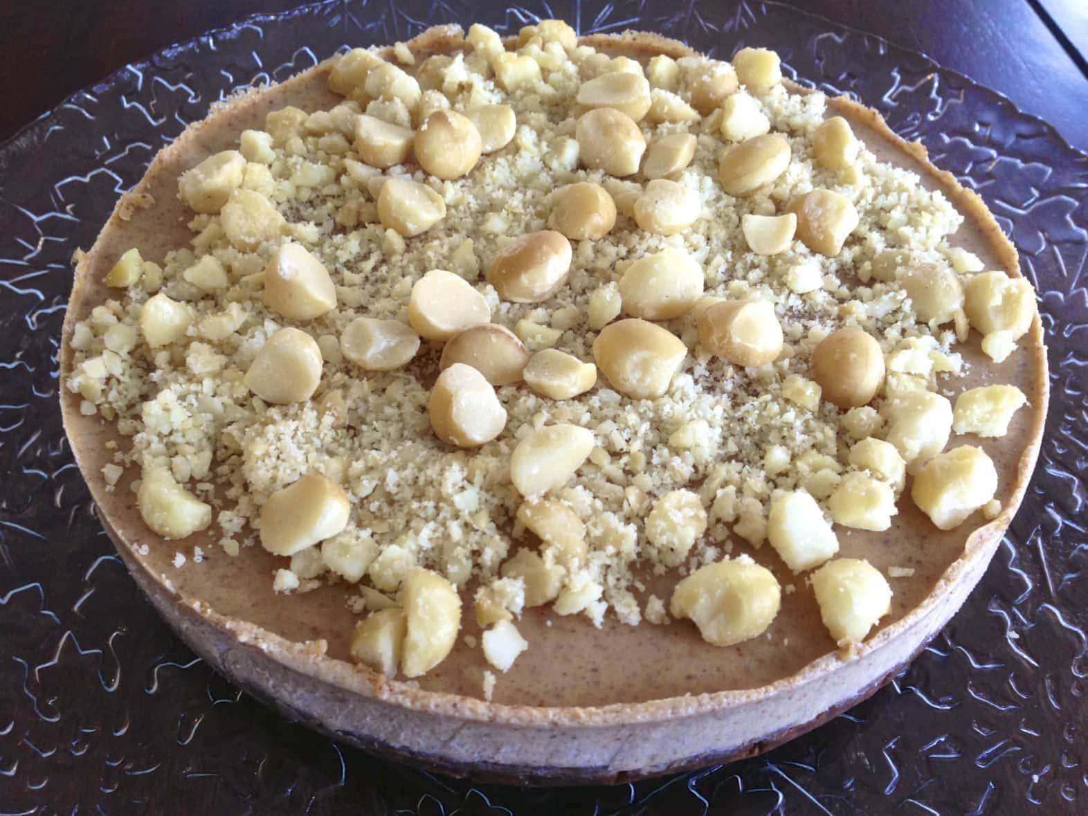 Paleo Macadamia Nut Pie