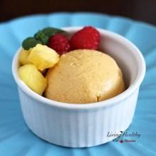 Paleo Summertime Mango Coconut Sorbet Recipe