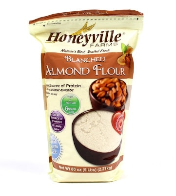GIVEAWAY: Honeyville Almond Flour, 5 lb. - Living Healthy