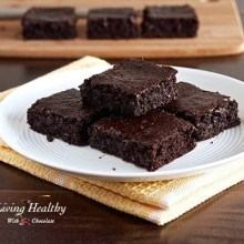 Flourless Fudgy Brownie Recipe
