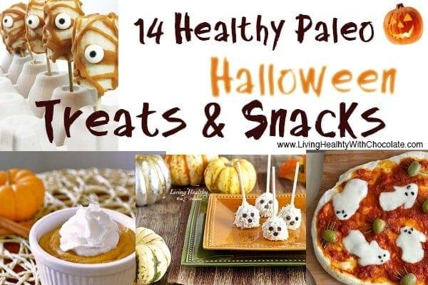 14 Halloween Healthy Paleo Snacks, Treats and Recipes