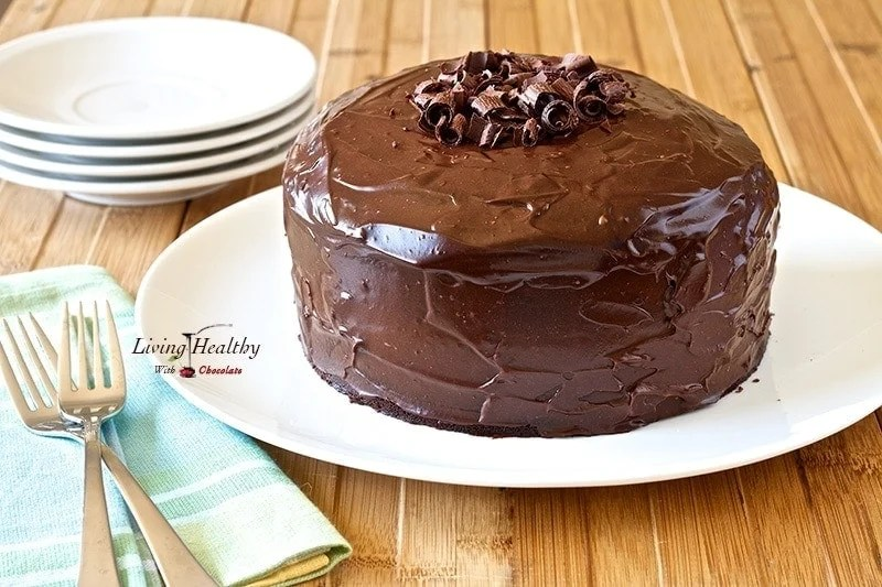 Paleo Chocolate Cake recipe (Grain, Gluten, Dairy Free)