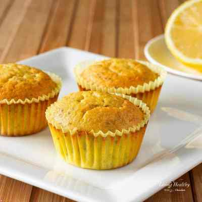 Paleo Lemon Chia Seed Muffins