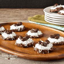 Paleo Easter No Bake Cookie Nests
