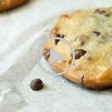 Paleo Macadamia Chocolate Chip Cookies