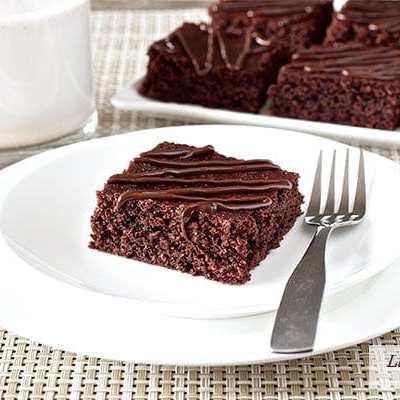 Chewy Fudgy Homemade Brownies (paleo, gluten-free)