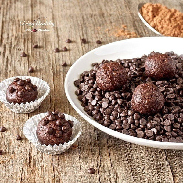 No-bake Double Chocolate Chip Cookie Dough