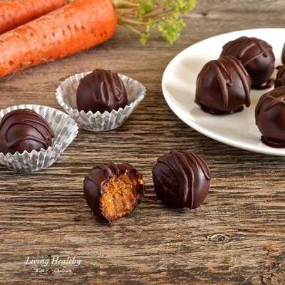 Paleo Carrot Cake Truffles