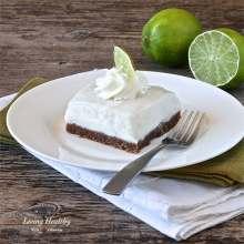 Paleo Key Lime Pie Bars - egg free, gluten free, grain free, dairy free, soy free and refined sugar free
