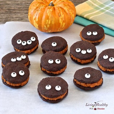 Whoopie Pies With Pumpkin Filling (Paleo, gluten/grain-free)