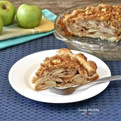 Paleo Apple Pie Recipe — grain/gluten/dairy/egg/refine sugar-free