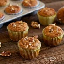 Banana-Walnut Breakfast Muffins (Paleo, gluten-free, grain-free, dairy-free)