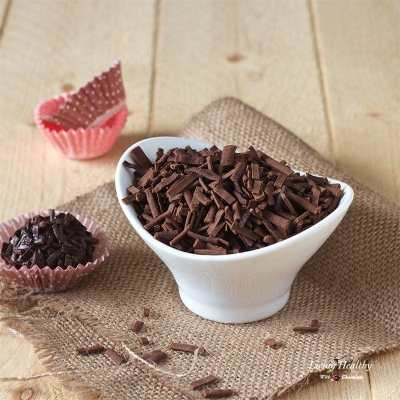 Homemade Chocolate Sprinkles (refined sugar-free, Paleo)
