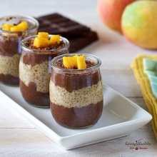 Chocolate Mango Chia Pudding (Gluten-free, Dairy-free, Paleo)