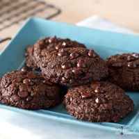 Double Chocolate Chip Cookies (Nut-free, Grain-free, Gluten-free)