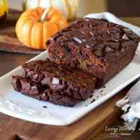 Moist Chocolate Pumpkin Bread (gluten/grain/dairy-free, Paleo)