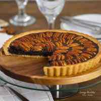 Chocolate Pecan Pie (Gluten-free, Paleo)