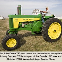 John Deere G Tractor For Sale White Rodgers Aquastat Wiring Diagram Tractors During The 1950s And 60s Model 730