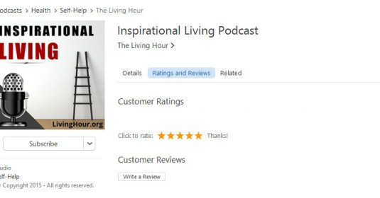 Subscribe Inspirational Podcast