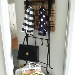 Folding Chair Storage Rack Unusual Leather Bedroom Living In A Nutshell