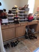 shoe cupboards...