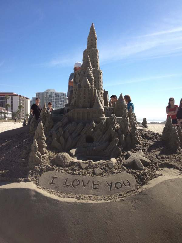 Sand Castle on Coronado Shores