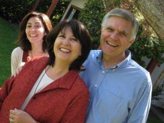 Sarah, Marian and Tom