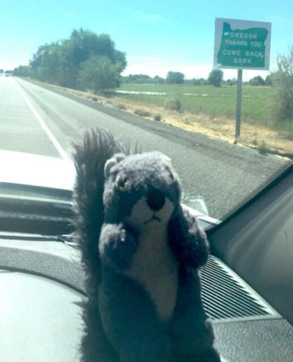 Leaving Oregon