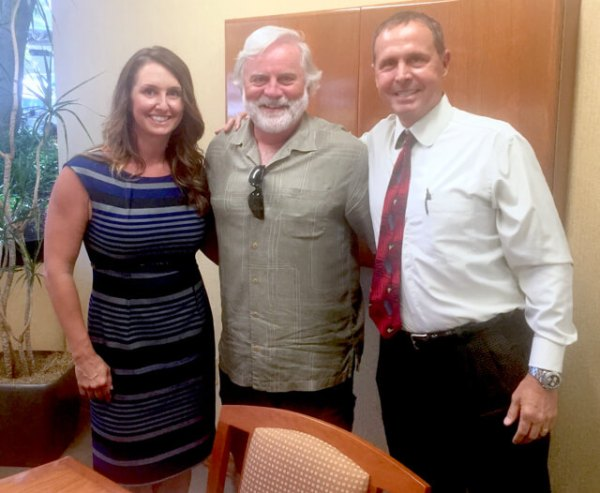 Jim with our investment team, Jeffrey Dunham and Amy Gallego from Dunham and Associates