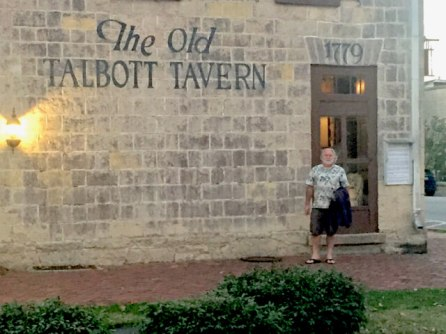 (The Old Talbot Tavern has been around since 1779)