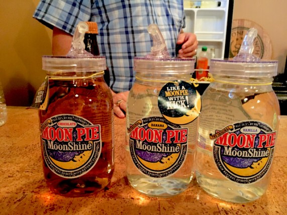 "(Limestone creates ""Moon Pie"" moonshine in 3 flavors)"