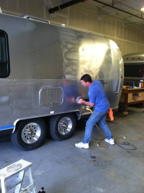 Bring the shine back in your Airstream