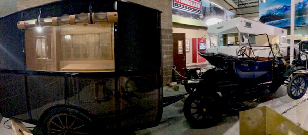 1913 - oldest non-tent travel trailer in existence