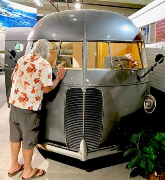 1937 Hunt housecar, one of several very unique early housecars built by Hollywood cinematographer Roy Hunt