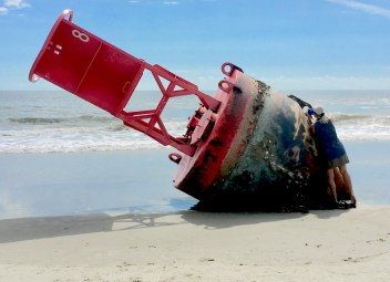 Loose buoy, now objet d'art
