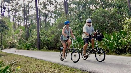 Disney World Bicycling trails