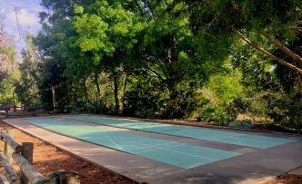 Disney's Fort Wilderness campground shuffleboard
