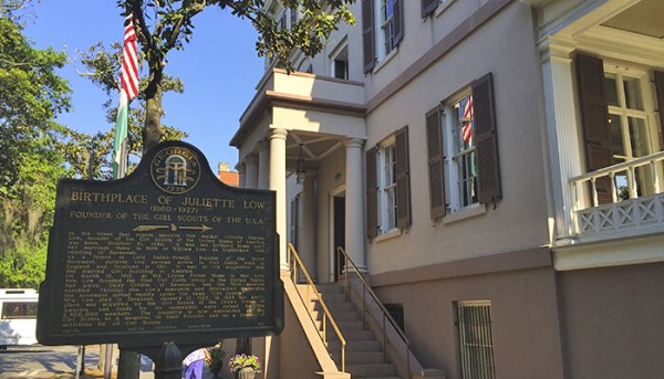Juliette Gordon Low's Birthplace (founder of Girl Scouts of America)