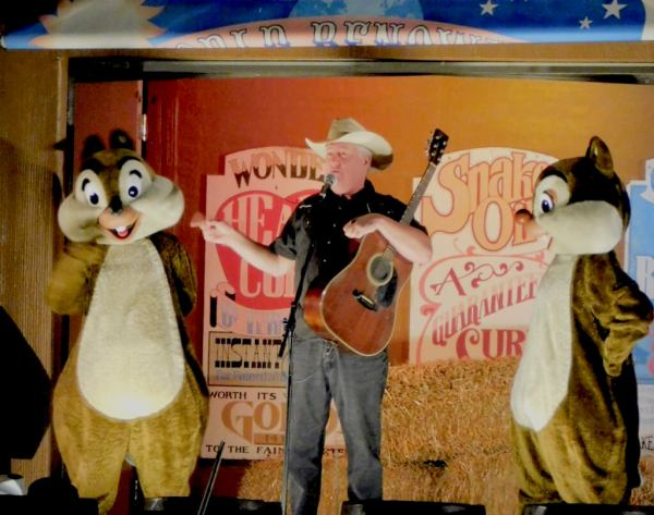 Disney's Fort Wilderness campground campfire sing-a-long