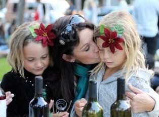 Olivia, Kellee, and Sonoma