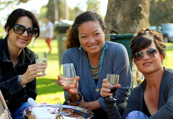 Kelly, Hollie and Michelle