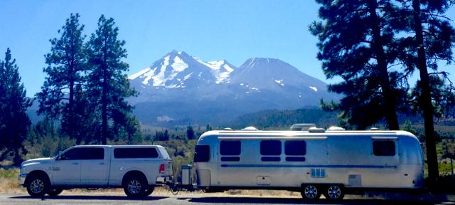 Leaving Mt. Shasta
