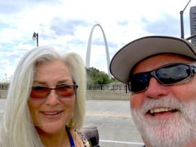 Selfie - St. Louis Gateway Arch