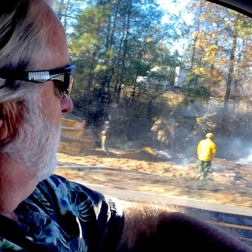 Day-time fires north of Telico Plains Tennessee