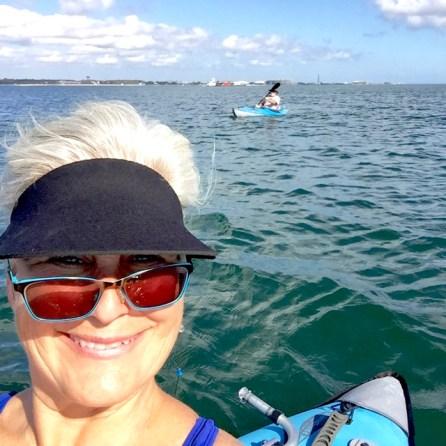 Kayaking the bayside of Pensacola