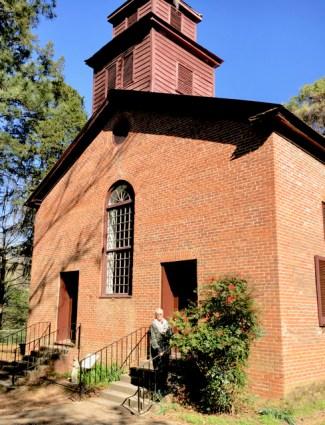 Rocky Springs Methodist Church - 1837