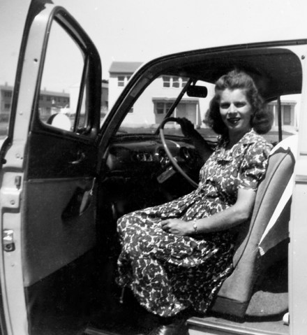Jim's mom in the early 1940's