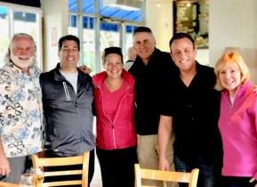 Brad Morris, Julie Hunt, Jim Marlar, Chris Beaubeaux, Melina Marlar